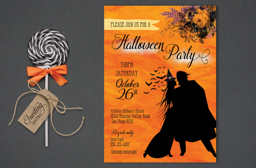 Couples Halloween Party